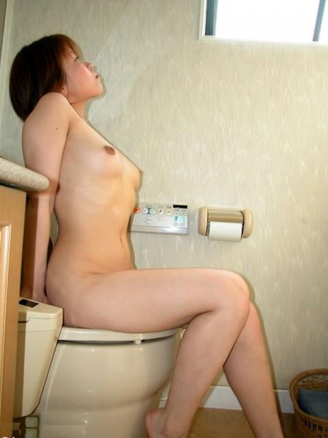 【画像あり】便座に全裸で座って○○○してる女の子を視姦したったwwwwwwwwww(22枚)・9枚目
