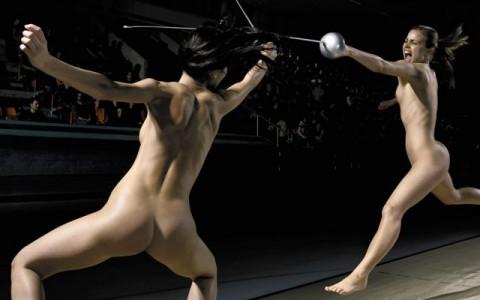 裸で割と本気でスポーツしてるエロ画像wwwwwww(31枚)・31枚目