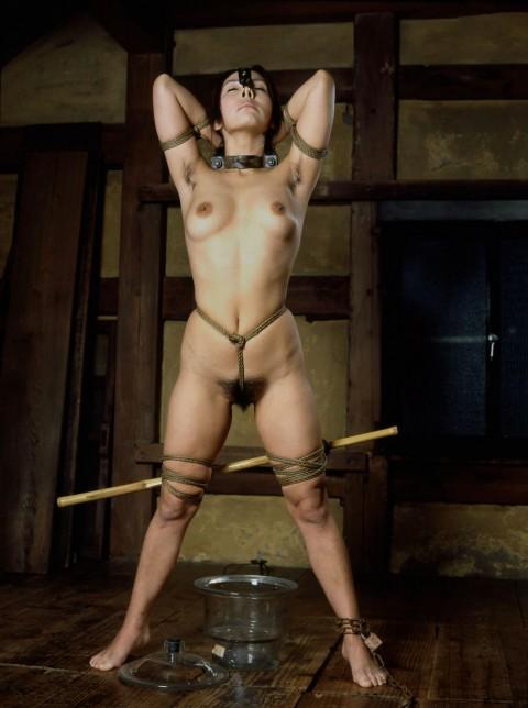 【SM】マ○コに食い込んでる縄をクイックイしてみたい緊縛画像(画像24枚)・5枚目