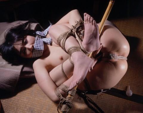 【SM】マ○コに食い込んでる縄をクイックイしてみたい緊縛画像(画像24枚)・8枚目