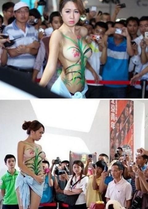中国のキャンギャルが過激すぎて放送してはいけないレベルにwwwwwwwww(※画像あり)・10枚目