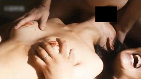 壇蜜が乳房を鷲づかみにされながらフェラ!これ、もうAVだろ・・・