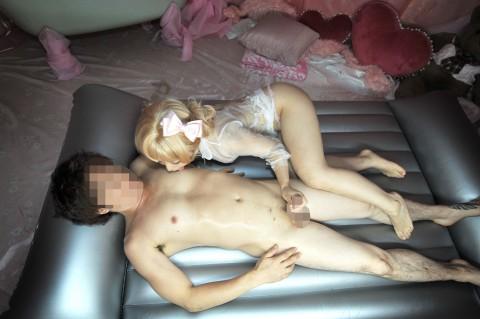 【□リ注意】姫ギャル系とかいう美少女専門風俗の本番画像がマニアックすぐるwwwwwwww(※動画もあり)・9枚目