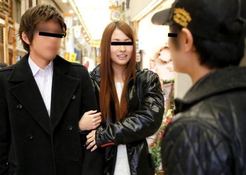 【マジキチ】夫がAV女優の責めに20分我慢できたら賞金!→ イカされちゃったら妻が・・・ → 結果www(動画)・8枚目