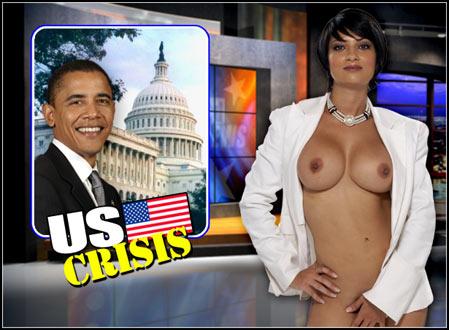 【放送事故】全裸でニュースを読む女性ニュースキャスター現るwwwwwwwwwwwww(29枚)・3枚目