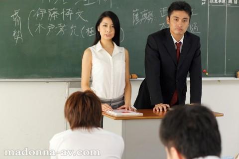 【集団レイプ】高校の女教師ですが、放課後毎日犯されています・・・・・・。(動画)・10枚目