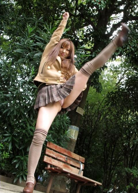 【当たり前】ミニスカートの女子がハイキックするとこうなる・・・・・・・・(※画像あり)・4枚目