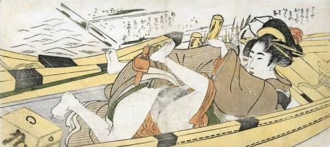 【画像】江戸時代のエロ本(春画)巨根すぎワロタwwwwwwwwwwwwwwww(28枚)・11枚目