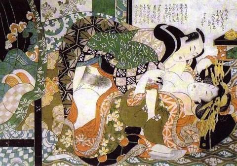 【画像】江戸時代のエロ本(春画)巨根すぎワロタwwwwwwwwwwwwwwww(28枚)・16枚目