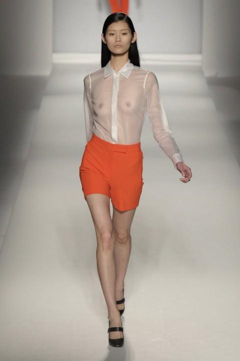 【画像】透け乳首してるスーパーモデルの画像集めてみた結果 → 「あれ?これ杏じゃね?」・5枚目