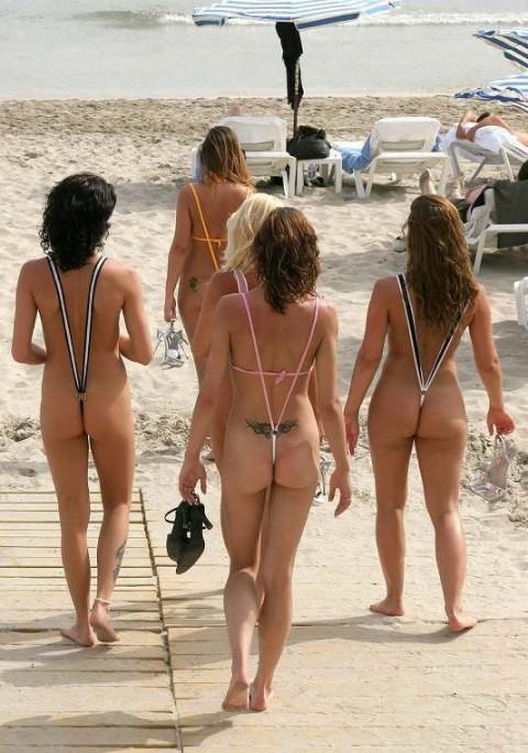 【画像】露出狂女御用達の水着がほぼ隠せていない件wwwwwwwwwwwwwwwwwwww(22枚)・11枚目