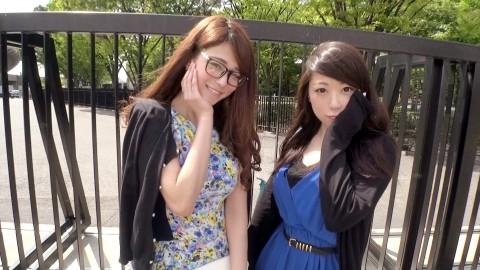 【動画】ナンパ→3Pに成功した女の子2人が両方とも爆乳だった時の興奮度は異常wwwwwwwwwwwwww・1枚目