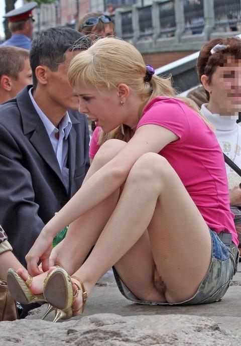 【マン見せ女子】街でパンチラ狙ってたら露出狂ばっかりだった件・・・wwwwwwwwwwwwwww(23枚)・15枚目