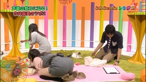 【放送事故】ノーパンカルタ取り番組で完全にマンコ映る・・・・・(※画像あり)・5枚目