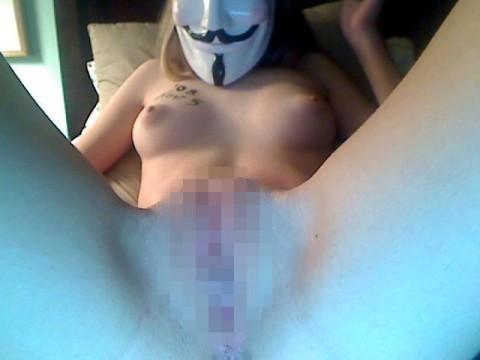 【素人】ガイ・フォークスの仮面をかぶった女たちが普段の10倍卑猥になる件(※画像あり)・21枚目