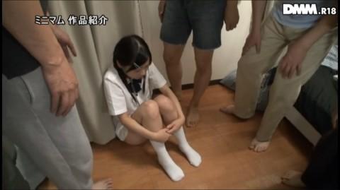 【日本終了】女子○学生が卑猥な下着を着せられてダッチワイフと化してる映像。これヤバいやろ・・・(※キャプ画あり)・24枚目