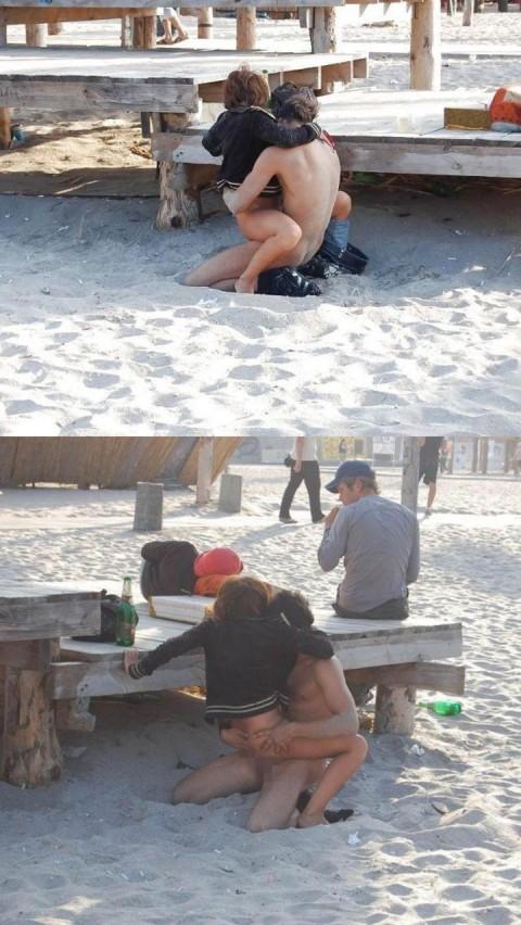 【※画像あり】ヌーディストビーチの無法者たちをご覧くださいwwwwwwwwwwwwww(21枚)・15枚目