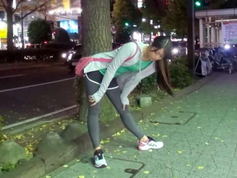 【男の願望】ジョギング中のレギンス美女ってそそるよな?→そのままホテルに連れ込んだ結果wwwwwwwww(※画像あり)・1枚目