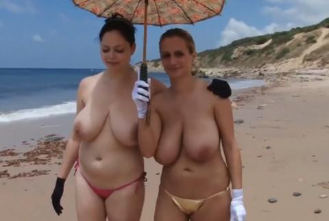 【画像24枚】ヌーディストビーチで全裸になってるポチャ女を貼ってくからアウトかセーフか判定してくれwwwwwwwwww・10枚目