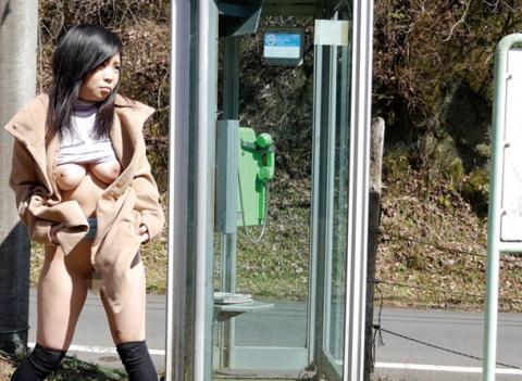 【納得】これが日本の露出狂だ。堂々としてるのはどうもイカン・・・(画像20枚)・23枚目
