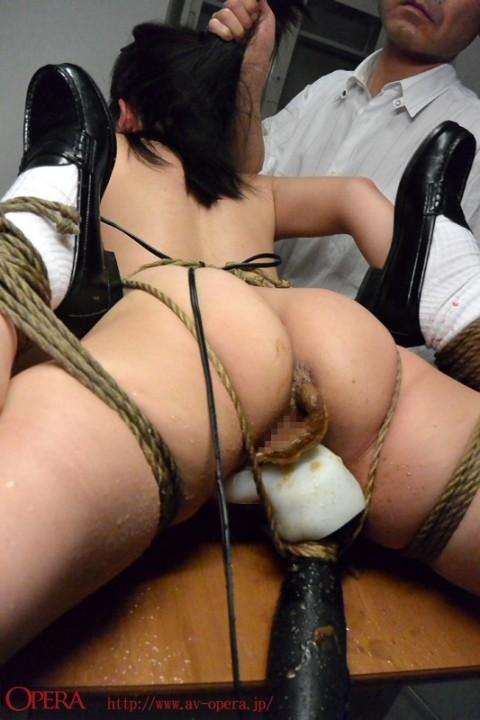 【閲覧注意】優等生女子が縛られて脱糞してるところとか見てまさか興奮しないよな・・・?(※画像あり)・3枚目