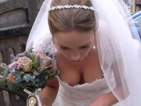 【画像】結婚式が待ち遠しくなるエロハプニング(25枚)・1枚目
