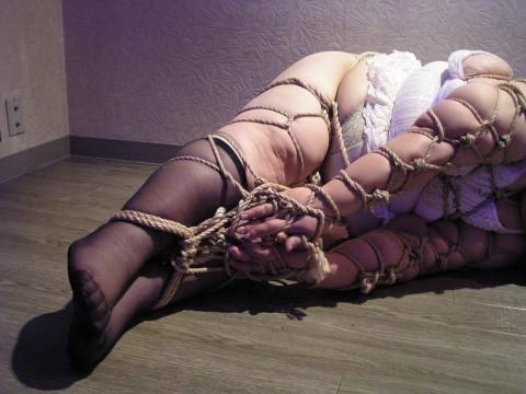 【SMデブ】縛られて無様なハムになってる女たちをご覧ください・・・・【画像22枚】・14枚目