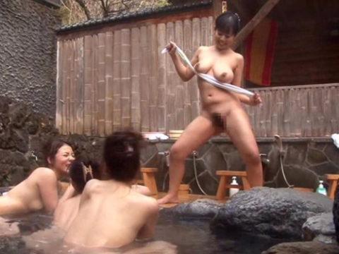 【画像あり】女子同士で温泉来てテンション上がった結果がこれwwwwwwww・1枚目