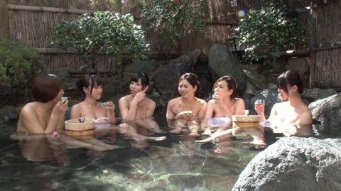 【画像あり】女子同士で温泉来てテンション上がった結果がこれwwwwwwww・14枚目