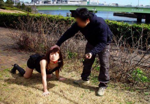 露出狂の彼女とのデート風景wwwwwww(画像20枚)・19枚目