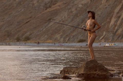 【釣り女】魚もどうせ釣られるならこんな美女に釣られたいよな(画像23枚)・3枚目