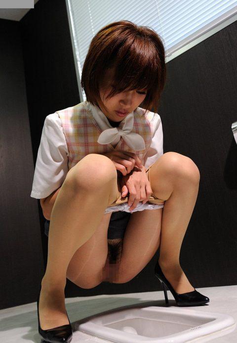 【画像】和式便所で放尿する女性をいろんな角度から見てみるとかいうド変態スレ(20枚)・15枚目