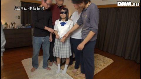 【無残】熟巨乳女に「148cmってだけで制服着せてロリ作品出演を強行」した結果・・・(画像あり)・24枚目