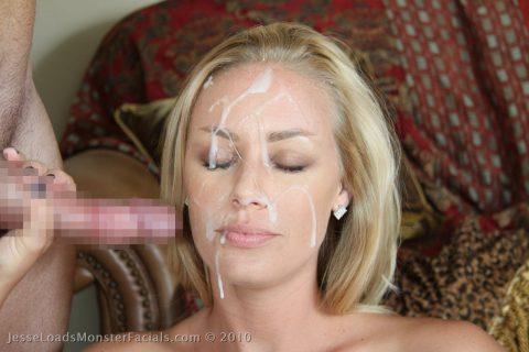 【顔射】ザーメンで洗顔できるくらい大量にブッカケられてる画像しか認めないスレ(26枚)・4枚目
