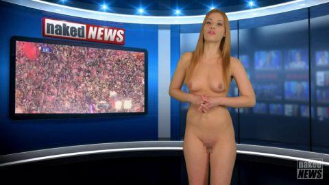 【画像】女性キャスターが全裸でガチなニュースを伝えるマジキチ番組発見wwwwwwwwwwww(25枚)・6枚目