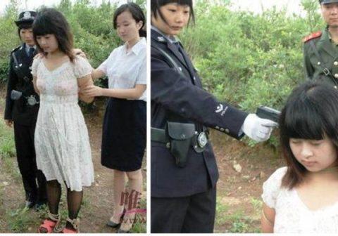 (※閲覧注意※)中国の女囚人の処刑の様子をご覧下さい。 → 淡々と殺し過ぎててガチでビビった。。。(写真あり)