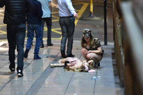 ハロウィンで街中で騒ぎまくった後の女子たちの痴態・・・(写真)