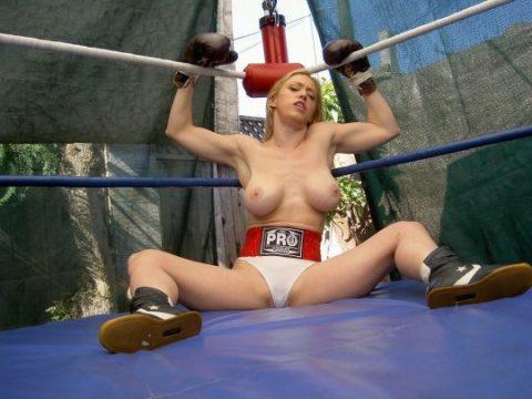 (マジキチ)最近海外で行われてるトップレスボクシング(女)とかいう性競技wwwwwwwwwwwwwwwwwwwwwwwwwwwwwwwwww(写真あり)