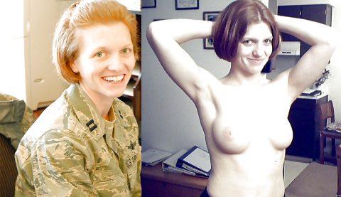 欲求不満な女兵士の軍服とヌードのコラボ画像集(29枚)・6枚目