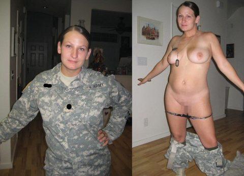 欲求不満な女兵士の軍服とヌードのコラボ画像集(29枚)・7枚目