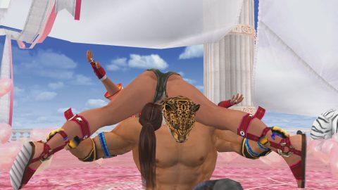 """【画像あり】格闘ゲームで""""女性キャラにかけてみたい技""""第1位がこちらwwwwwwwwwwww・2枚目"""