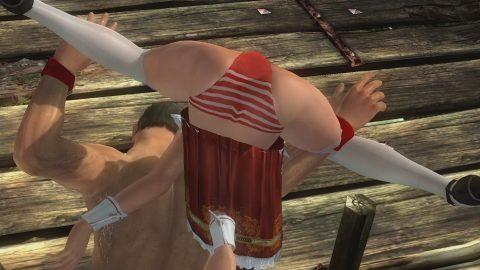 """【画像あり】格闘ゲームで""""女性キャラにかけてみたい技""""第1位がこちらwwwwwwwwwwww・3枚目"""