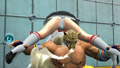 """【画像あり】格闘ゲームで""""女性キャラにかけてみたい技""""第1位がこちらwwwwwwwwwwww・10枚目"""