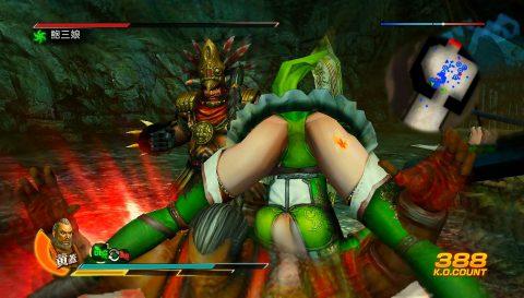 """【画像あり】格闘ゲームで""""女性キャラにかけてみたい技""""第1位がこちらwwwwwwwwwwww・14枚目"""