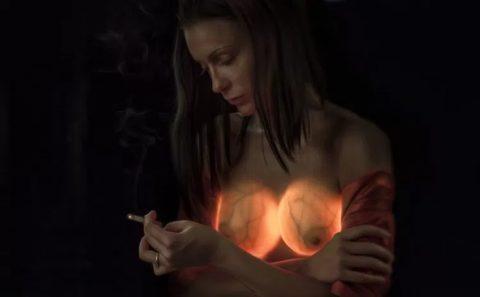 【画像23枚】偽乳を一発で見分けるライト有能すぎwwwwwwwwwwww・16枚目