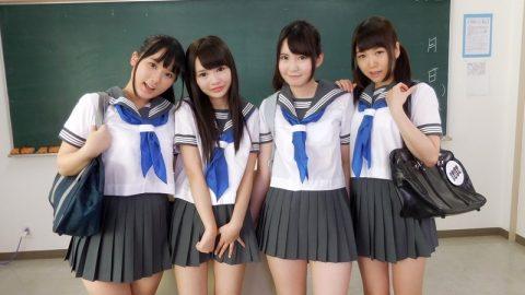 【VR】ガチで女子高生4人に囲まれてる!!!?まだ試してない奴もったいなさ過ぎワロタwwwwwwww・12枚目
