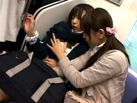 満員電車で隣が女性だからって油断してはいけない・・・(画像あり)・1枚目
