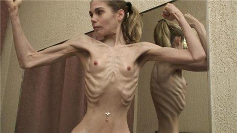 【ヌード】骨格標本みたいな女wwwwwwwwwwwwww(画像28枚)・13枚目
