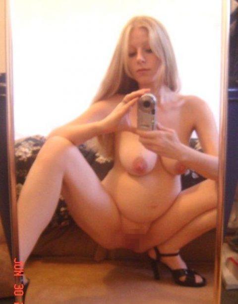 【画像26枚】妊婦が全裸自撮りするのは分かるけどなんでうpしちゃうの???・13枚目