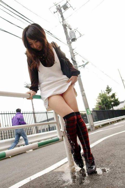 パンツ穿いたままお漏らししてる女の子を静止画で見るのもまた乙な件(26枚)・12枚目